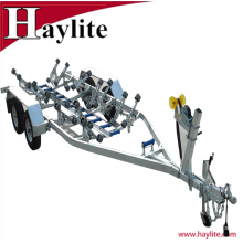 Galvanized heavy duty Australia boat trailer kit with rollers and jockey wheel